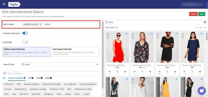 Edit-Merchandised-Search-Tagalys