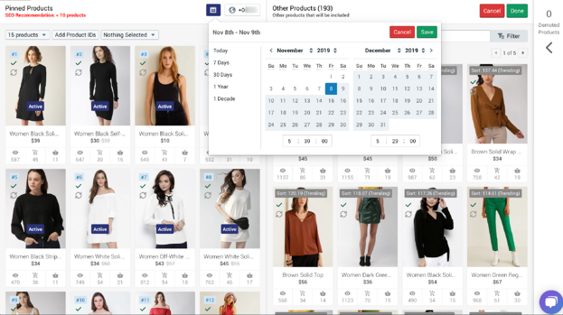 pinned_product_scheduling