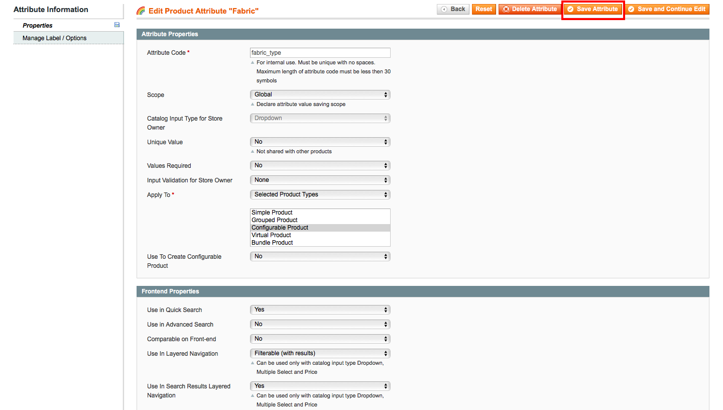 Attributes not showing as Filters or Facets in Magento