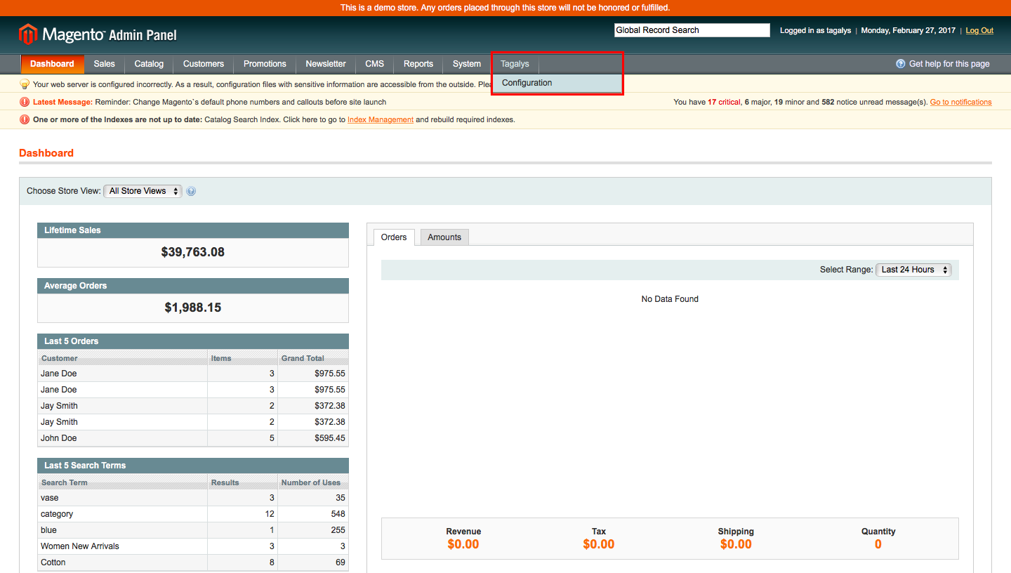 Enable attribute, category or subcategory to become visible in Search Suggestions